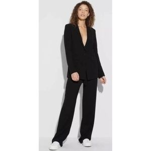 Theory Black Pull-on Pants